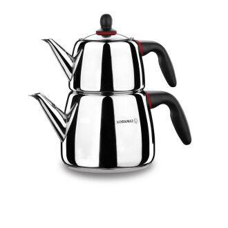 Korkmaz Gusto Çaydanlık Takımı - Thumbnail