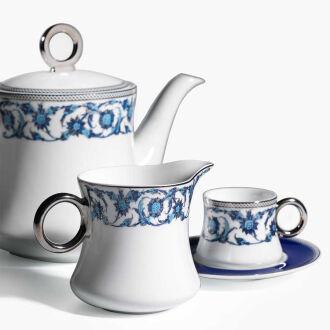 Korkmaz - Korkmaz Hasbahçe Mai 17 Parça Çay Seti (1)