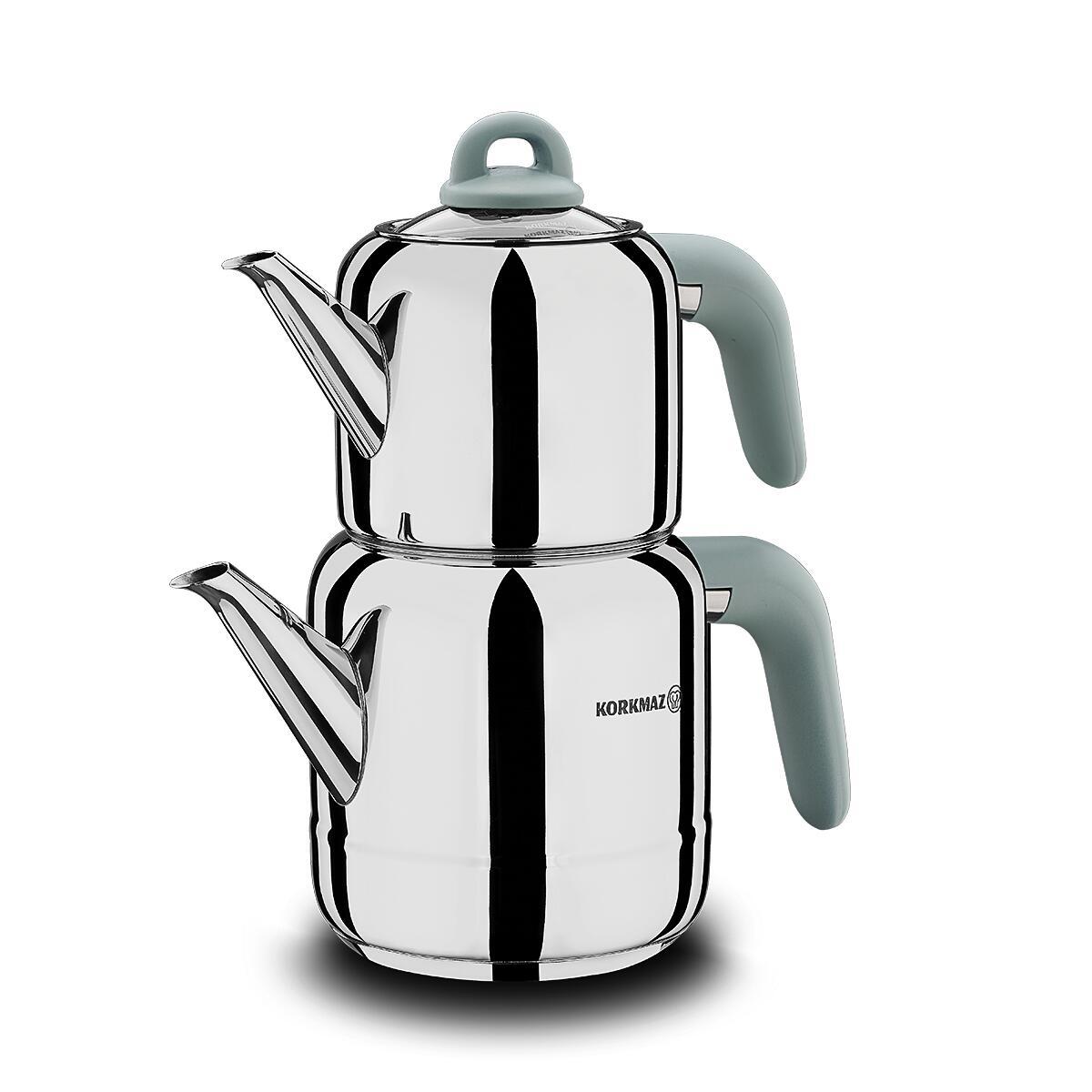 Korkmaz Hera Minta Çaydanlık Takımı