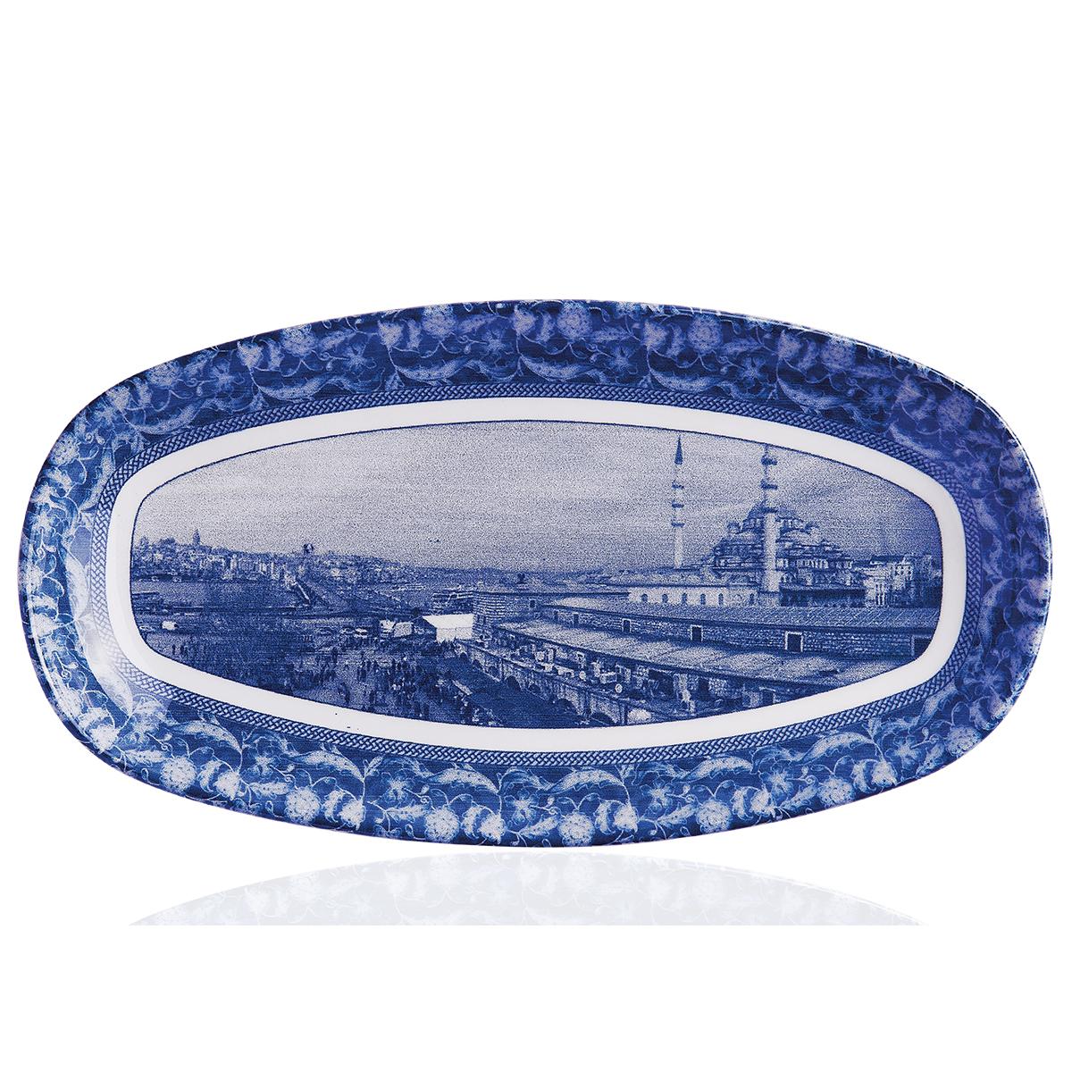 Korkmaz İstanbul Collection Eminönü 28 cm Oval Tabak