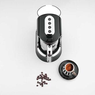 Korkmaz Kahvekolik Aqua Siyah/Krom Otomatik Kahve Makinesi - Thumbnail