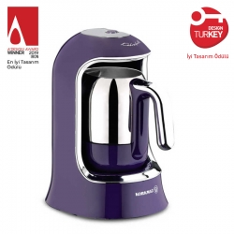 Korkmaz Kahvekolik Lavanta Otomatik Kahve Makinesi - Thumbnail