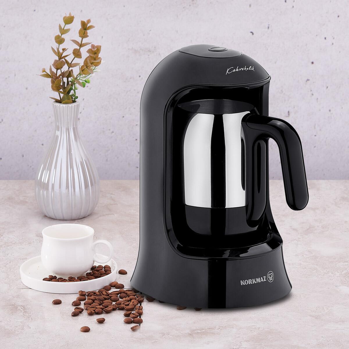 Korkmaz Kahvekolik Nero Otomatik Kahve Makinesi