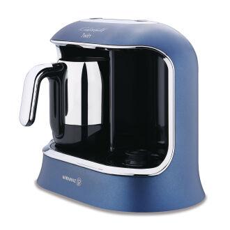 Korkmaz Kahvekolik Twin Azura/Krom Otomatik Kahve Makinesi - Thumbnail