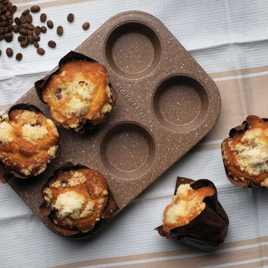 Korkmaz Muffy 6'lı Muffin Kalıbı