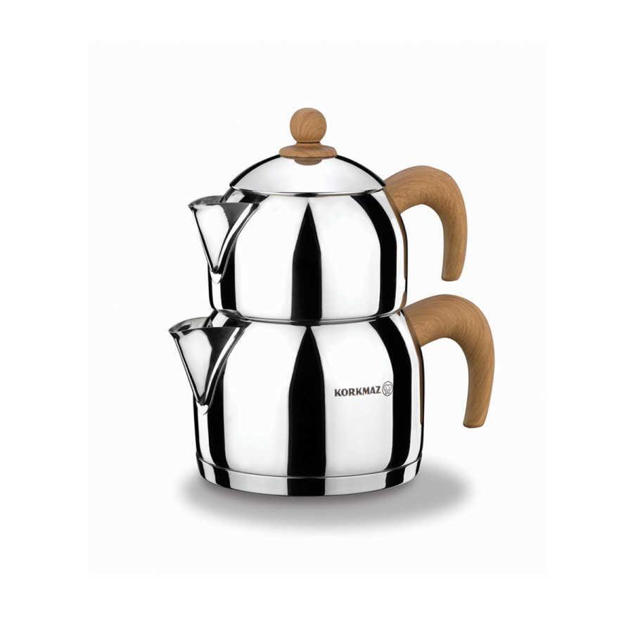 Korkmaz Natura Midi Çaydanlık Takımı