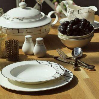 Korkmaz Pearl Collection 86 Parça Yuvarlak Yemek Takımı - Thumbnail