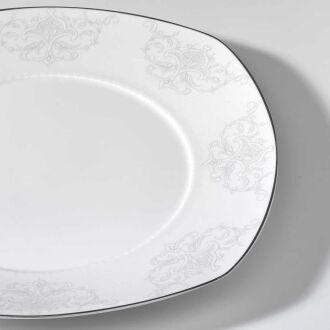 Korkmaz - Korkmaz Pearl Star Collection 60 Parça Kare Yemek Takımı (1)