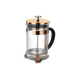 Korkmaz - Korkmaz Pressa 600 Ml Rosa Gold Kahve Presi (1)