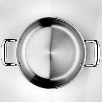 Korkmaz - Korkmaz Pro-Chef 24 cm Kısa Tencere (1)