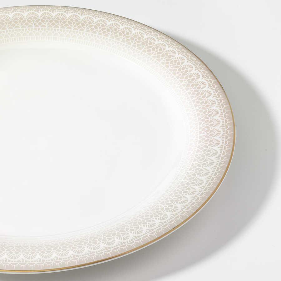 Korkmaz Queen Collection 70 Parça Yuvarlak Yemek Takımı
