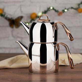 Korkmaz Rosanna Çaydanlık Takımı - Thumbnail