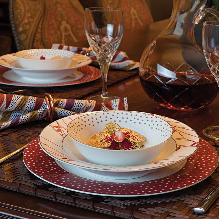 Korkmaz Siesta Collection 24 Parça Yuvarlak Yemek Takımı