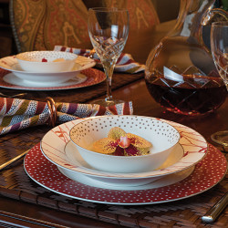 Korkmaz Siesta Collection 24 Parça Yuvarlak Yemek Takımı - Thumbnail