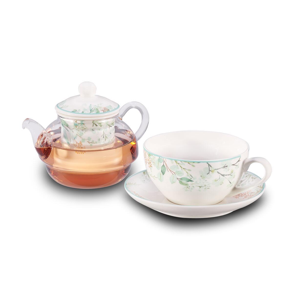 Korkmaz Spring 3lü Çay Takımı