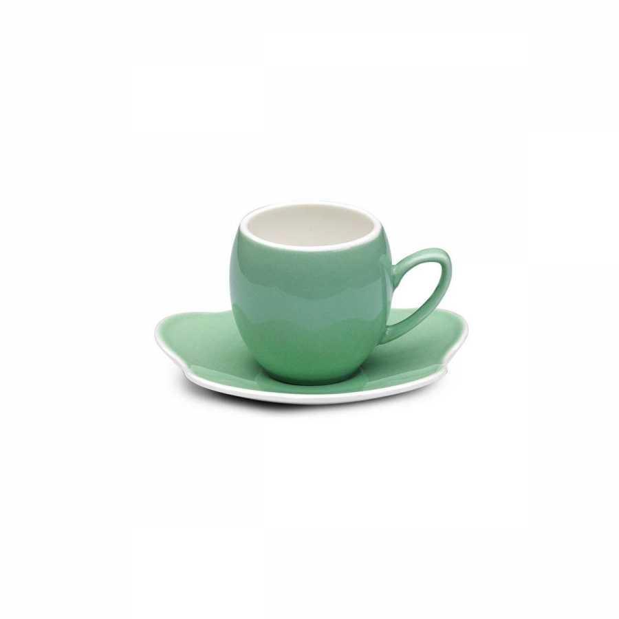 Korkmaz Stara 6'lı Açık Yeşil Kahve Fincan Takımı