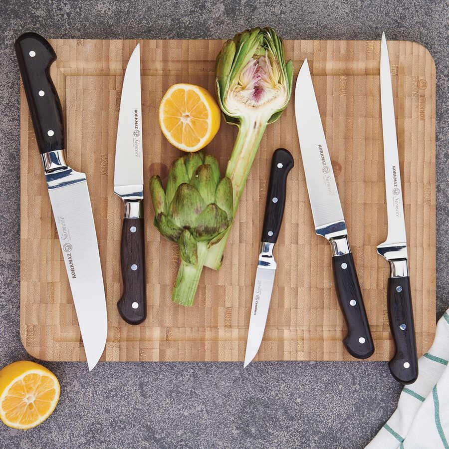 Korkmaz Sürmene 16,5 cm Doğrama Bıçağı