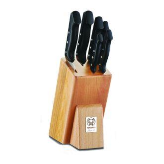 Korkmaz Sürmene Şef 7 Parça Bıçak Seti - Thumbnail