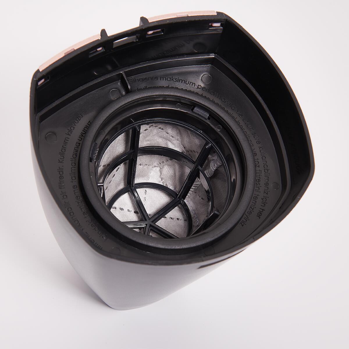 Korkmaz Tempratik Dikey Lavanta/Siyah Elektrikli Süpürge