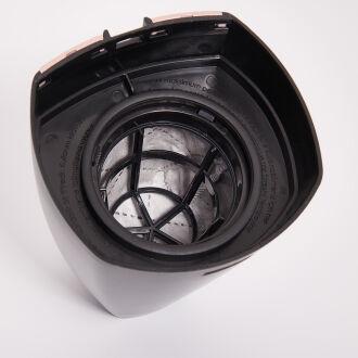 Korkmaz Tempratik Dikey Lavanta/Siyah Elektrikli Süpürge - Thumbnail