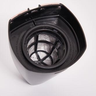 Korkmaz Tempratik Rosagold/Siyah Dikey Elektrikli Süpürge - Thumbnail
