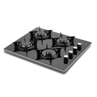 Korkmaz - Korkmaz Vetrina Black Set Üstü Ocak (1)